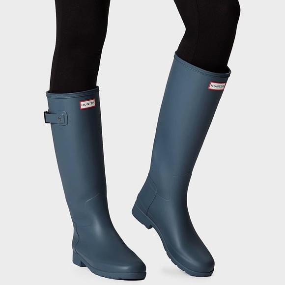 ae095bfc92d New Hunter Boots Original Refined Tall Matte Boots NWT